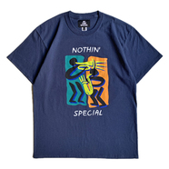NOTHIN' SPECIAL / BE JAZZIN' TEE (Navy)