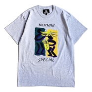 NOTHIN' SPECIAL / BE JAZZIN' TEE (Ash)