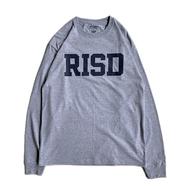 RISD(Rhode Island School of Design) / LOGO LS TEE (GREY)