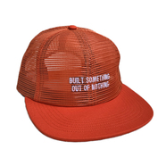 NOTHIN' SPECIAL / OUT OF NOTHING MESH CAP (ORANGE)