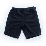 nuttyclothing / 7pockets nylon daily shorts (Black)