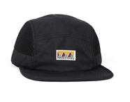 LASER BARCELONA / MONTSENY CAMPER TECH CAP (BLACK)