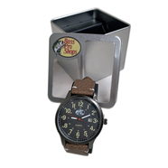BASS PRO SHOPS / LEATHER STRAP WATCH (BROWN)