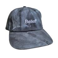 BELIEF / Tie Dye Logo 6 Panel (Black)