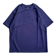 BELIEF / French Terry Pocket Tee (Navy)