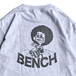 BENCH / AFRO TEE (SILVER GREY)
