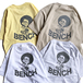 BENCH / AFRO TEE (SAND)