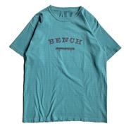 BENCH / COLLEGE LOGO TEE (SEAFOAM)