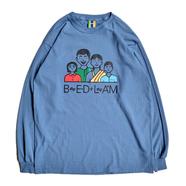 BEDLAM / FAMILY TIES LS TEE (Indigo Blue)