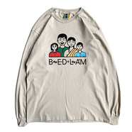 BEDLAM / FAMILY TIES LS TEE (Sand)