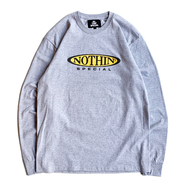 NOTHIN' SPECIAL / MOTEL SIGN LS TEE (Heather Grey)